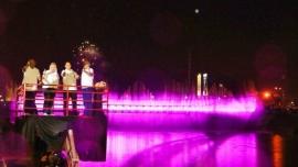 Wisata Tarian Air Mancur Jembatan Banjir Kanal Barat (BKB)