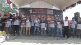 Rayakan HUT Ke-1,Charade Semarang Reborn Undang Komunitas Charade se-Jateng dan Yogyakarta